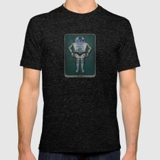 R2 3PO Mens Fitted Tee Tri-Black SMALL
