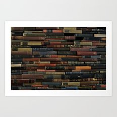 Books on Books Art Print