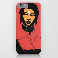 iPhone Cases featuring Bonny going to a party by Serhii Bilyk