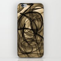 Them Cutting Whispers iPhone & iPod Skin