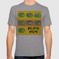 Mellon EP Cover Art - ¿Que-Pasa? Mens Fitted Tee Athletic Grey SMALL