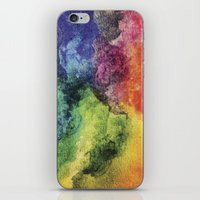 Rainbow Tie Dye Watercol… iPhone & iPod Skin