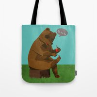 Mrs. Bear Tote Bag