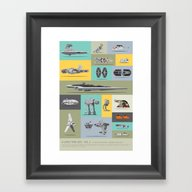 A Long Time Ago - Vol 2 Framed Art Print