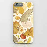 iPhone Cases featuring Things Squirrels Probably Shouldn't Be Eating by Teagan White
