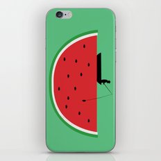 Watermelon Fisher iPhone & iPod Skin
