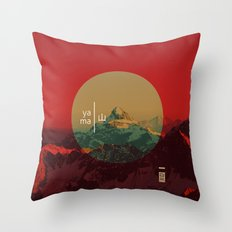 Yama Throw Pillow