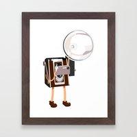 Cameraman Framed Art Print