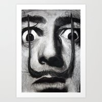 I am drugs ( Salvador Dali ) Art Print