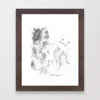 let´s twist again Framed Art Print