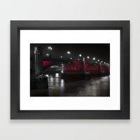 Southwark Bridge London Framed Art Print