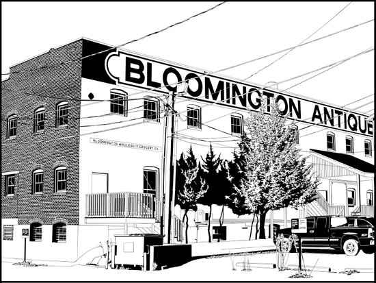 bloomington I Art Print