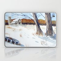 A Different Path - Winte… Laptop & iPad Skin