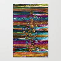 Indian Bling Canvas Print