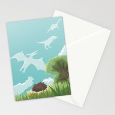 Dinosaur Clouds Stationery Cards