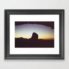 phoenix desert #3 Framed Art Print