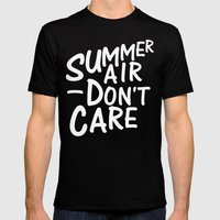 Summer Air Mens Fitted Tee Black SMALL
