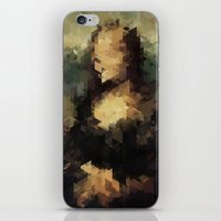 Panelscape Iconic - Mona Lisa iPhone & iPod Skin