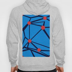 3 Red Dots Hoody
