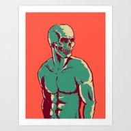 Skulldude Art Print