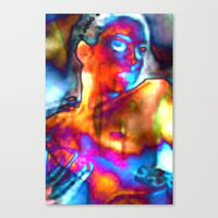 Just Lay Back Canvas Print