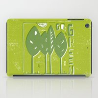 Go Green iPad Case