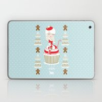 Merry Lady Christmas Cup… Laptop & iPad Skin
