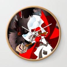 The Big Bad Wolf Wall Clock