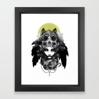 The Marquis Marchosias  Framed Art Print