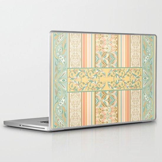 Vintage Stripe Laptop & iPad Skin