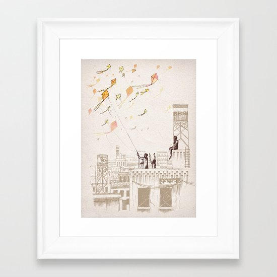 Komal Framed Art Print