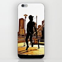 Roberto's Shadow Lives In Roberto's City iPhone & iPod Skin