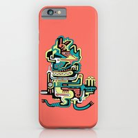 Geometric beings made of love iPhone 6 Slim Case