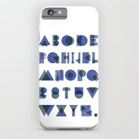 Letterpress Alphabet iPhone 6 Slim Case