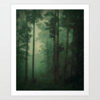 Fog's Footsteps Art Print