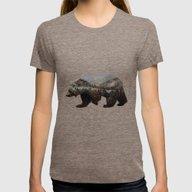 T-shirt featuring The Kodiak Brown Bear by Davies Babies