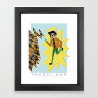 PONOPL-MAN Framed Art Print