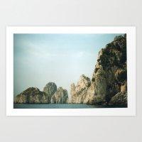 Capri 3 Art Print