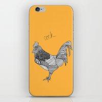 Cock iPhone & iPod Skin