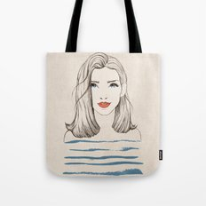 Sea girl Tote Bag