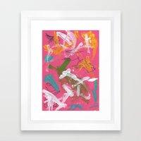 Randomness 2 Framed Art Print