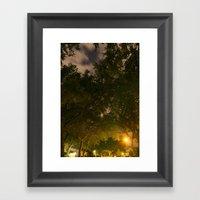 Through The Tunnel Of Dr… Framed Art Print