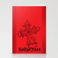 HollyCross Sketch Stationery Cards