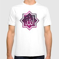 Islamic Chant, In Pink &… Mens Fitted Tee White SMALL