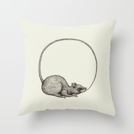 'Ouratoros' Throw Pillow