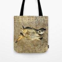 MM - Relaxing meerkat Tote Bag