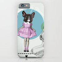 iPhone & iPod Case featuring Pretty Chauncey Princess - French Bulldog by Smiley and the Pony