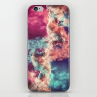 Yin Yang Painted Clouds iPhone & iPod Skin