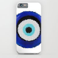 iPhone & iPod Case featuring Blue eye Luck by Msimioni