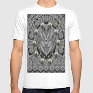 T-shirt featuring Sunset In Sacred Metal by Pepita Selles
